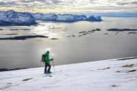Skitour Husfjellet, Norwegen
