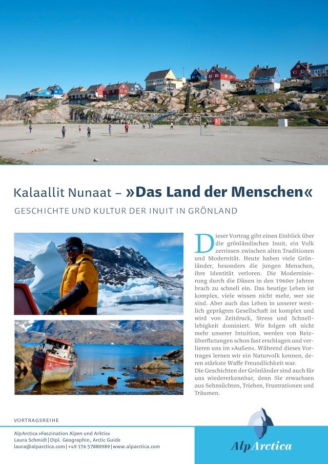 Kalaallit Nunaat- >>Das Land der Menschen<<